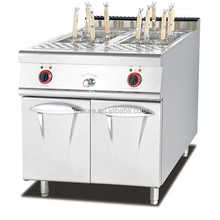Commercial Stainless Steel Gas/Electric Pasta Cooker with Cabinet
