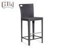 Garden rattan furniture outdoor high bar chair bar stool chair