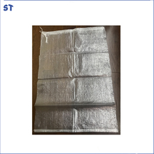 Cheap christmas use transparent pp woven bag plastic clothes packing sheet