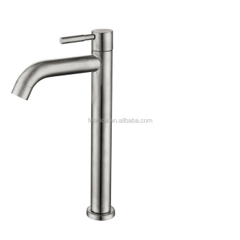 304 stainless steel high basin tap