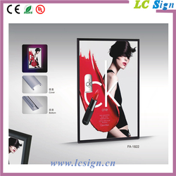 A2 Advertising Led Aluminum Picture Light Box Frame