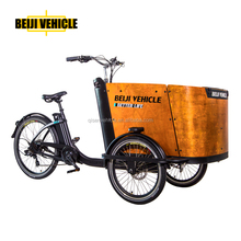 three wheel dutch cargo bike jiabo motor