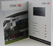 4.3inch LCD Video Brochure+Digital advertising player+LCD Video greeting card+Video-in-print+video businesscard