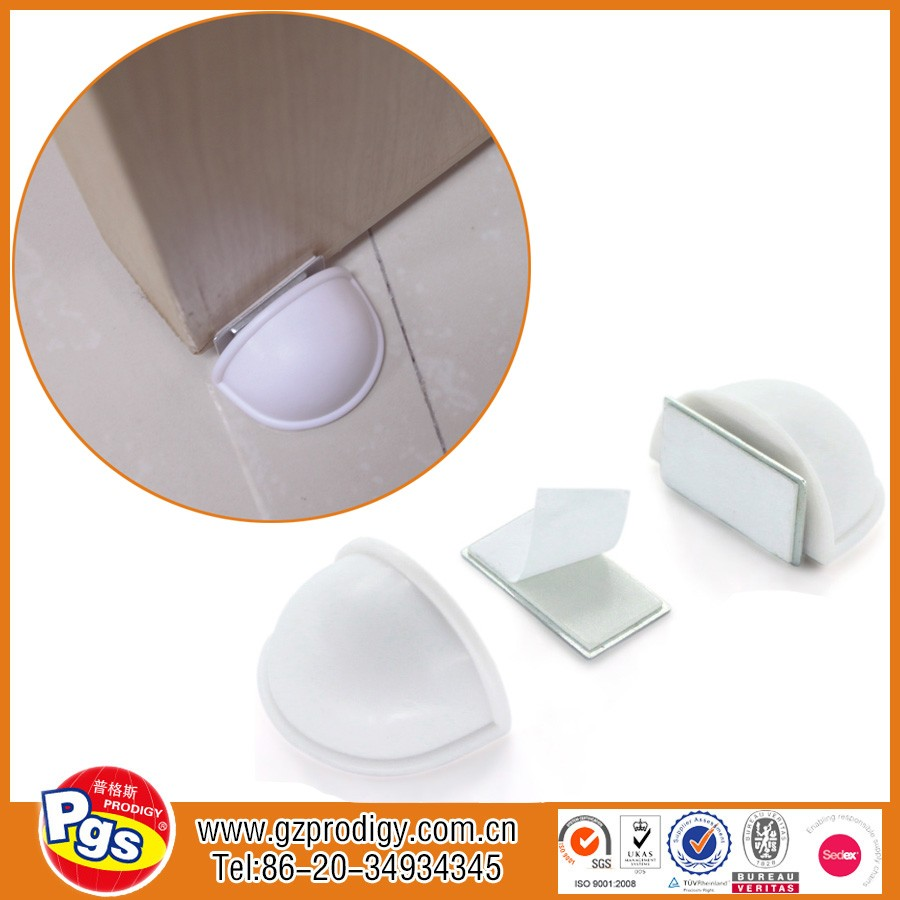 magnetic catch door stop/magnetic door guard/magnetic wall stop