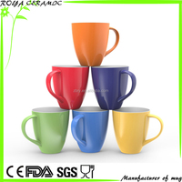 Ceramic Coffee Mugs (Solid Colorful)