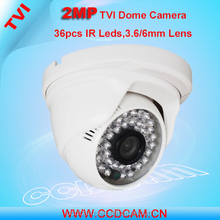 Cheap Full HD 1080P digital camera IR Night Vision P2P Indoor 2MP HD TVI CCTV Camera