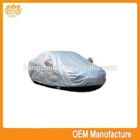 Hot selling al+pp cotton fabric folding garage car cover with high quality
