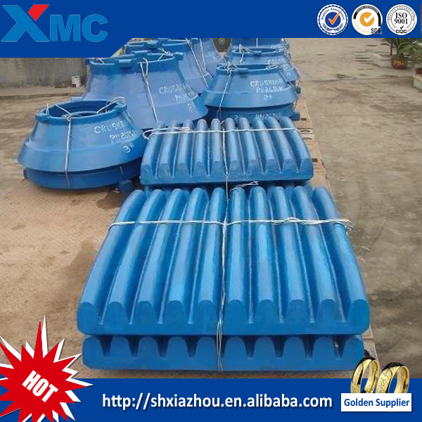Mn13 Cr2 material jaw crusher jaw plate price and high efficiency