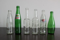 GREEN GLASS BOTTLE DRINKS 275ML 300ML