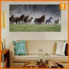 Hot Sale Customized Full Colour Printing Wall Art Canvas Sign Decoration