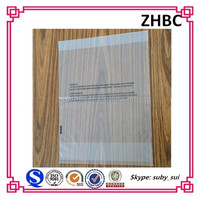 Custom clear cellophane bag with logo