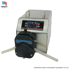 0.01-13 L/min intelligent filling type industrial peristaltic pump with 5V, 12V, 24V level input optional
