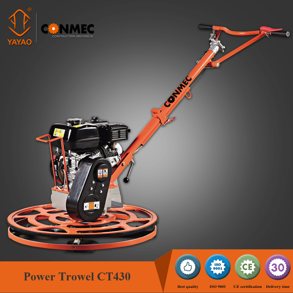 2016 CT430 foldable handle Gasoline Edging Power Trowel