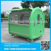 YY-FR220D Most popular electric hot dog/hamburger food vending carts for sale