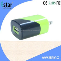 Wholesale USB MINI Wall Charger For iPhone For Samsung Mobile S3 S4 Note 3 home charger for iphone travel