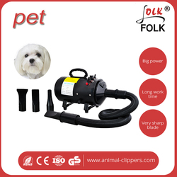 China Supplier 2400w dog grooming dryer with blower shelf