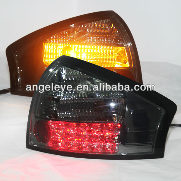 For Audi A6 LED Tail Light Rear lamp All Smoke Black 1999-04 year