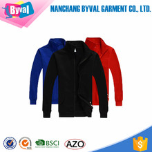 Custom purecolor new design fleece sweatshirt collar thickened zipper cardigan men leisure sweatshirt wholesale