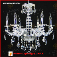 Modern style asfour crystal chandelier pendant lamp for home decoration hotel projects