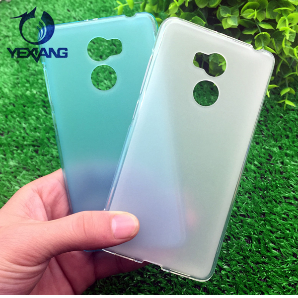 Factory Price Soft TPU Protective Back Cover Phone Case for redmi note 4