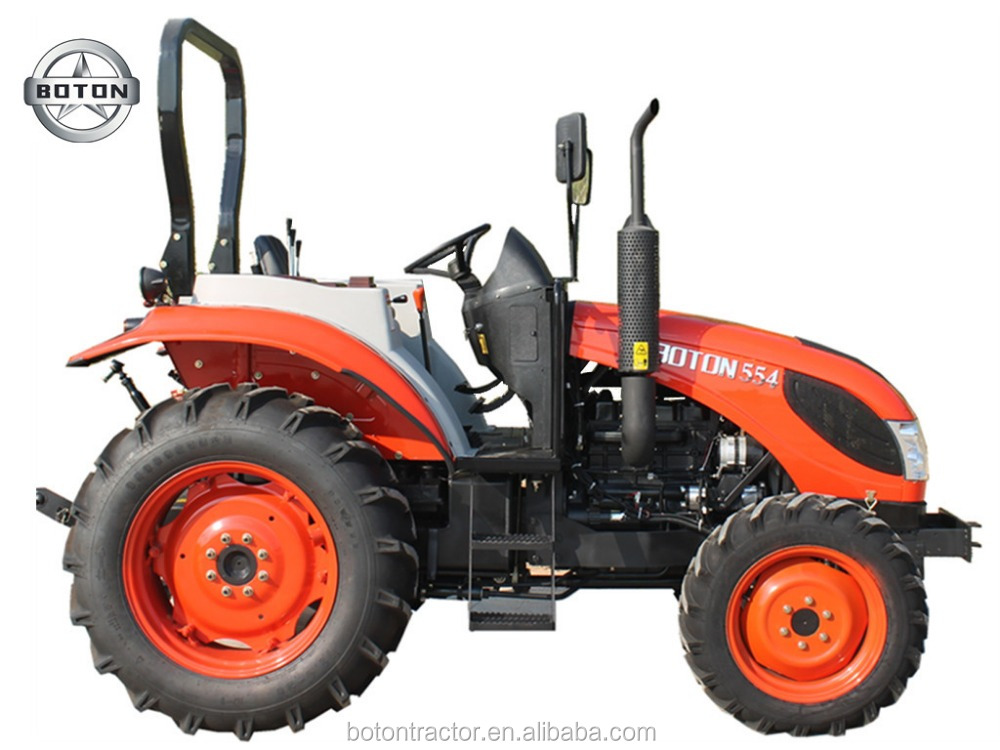 55HP 4WD SMALL WHEELED AGRI TRACTOR WITH NSK BEARING