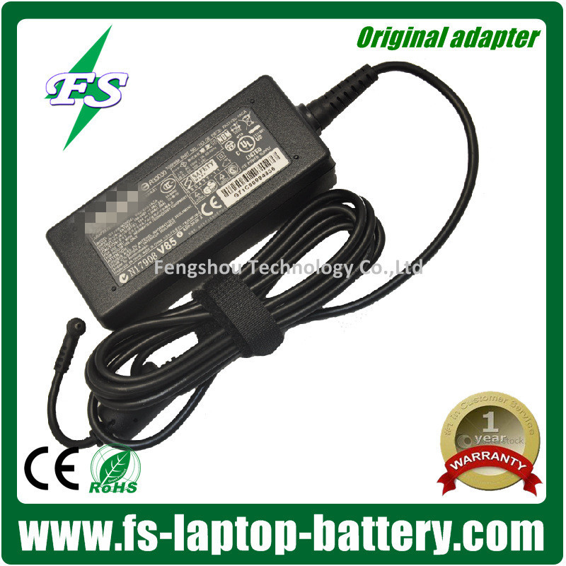 China Supply external laptop battery charger for Toshiba 19V 1.58A 30W 5.5*2.5mm