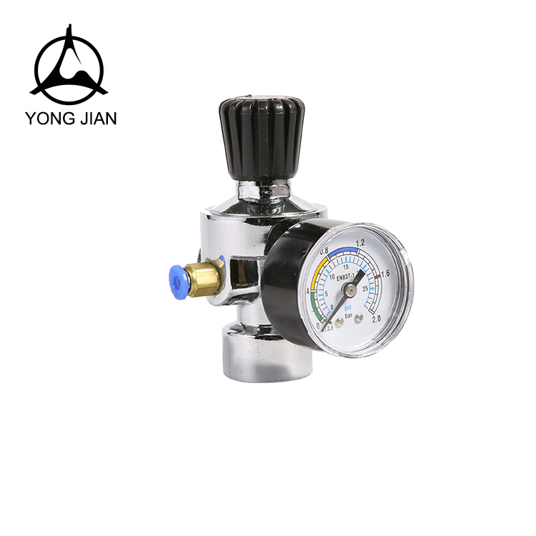 CO2-13C digital low pressure regulator co2 pressure regulator