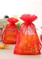 10x15cm Organza Bag for Gift Jewelry Cosmetic Candy, Wedding Supplies