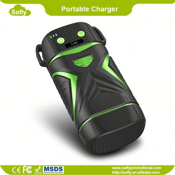 Waterproof IP67 Portable Solar Power Bank, The Best Portable Phone Charger
