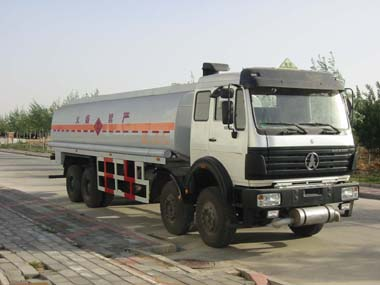 8*4 Chemical Liquid Tanker Truck