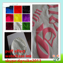 puff water based screen print ink for fabric/ t-shirt manufacturer in China