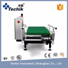 High accuracy Automatic food weigh checking machine