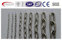 OEM welding small metal link chain