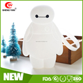 2015 Latest 3D Baymax silicone coin purse / baymax robot toy change bag for Christmas Promotions
