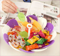 aliexpress hot sales colorful fruit bowl plastic tray for nuts