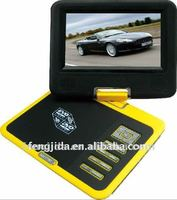 7 inch portable dvd with daewoo lcd tv