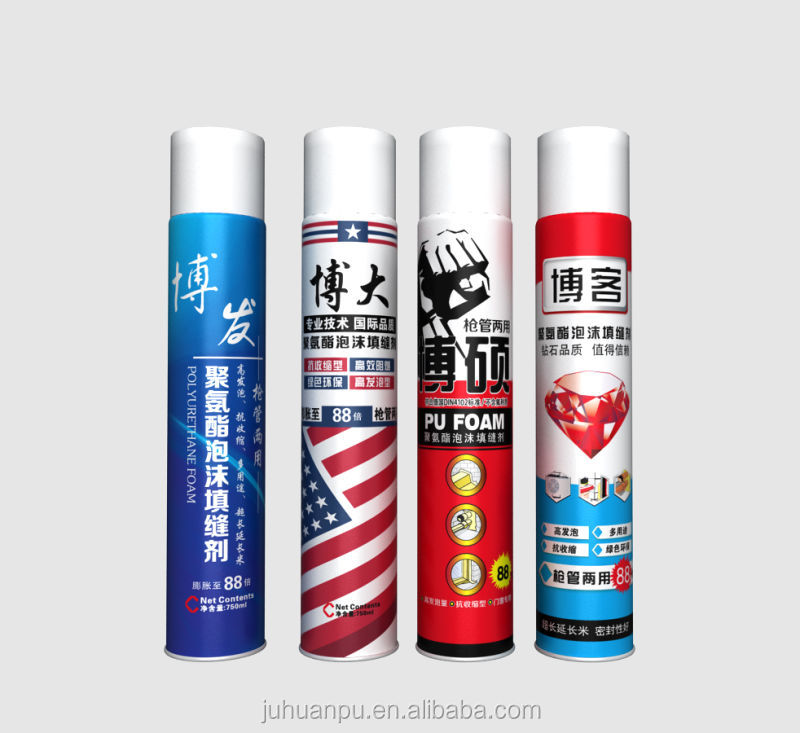 JUHUAN pu foam spray pu sealant