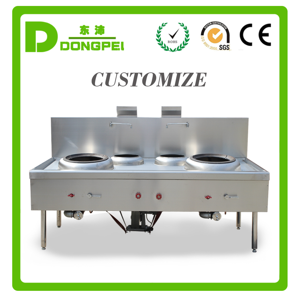 stainless steel chinese wok range/chinese cooking range/wok burner for sale