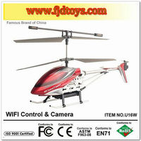 3.5 Channel mobile phone control wifi r/c helicopter with camera