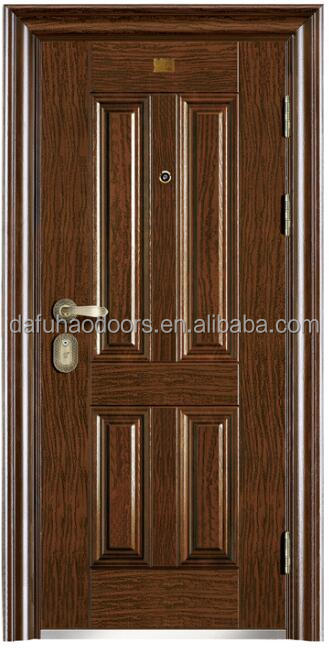 Chinese iron exterior main dor design apartment door(DFH16-62)