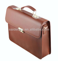 fashion business bag genuine leather man bag