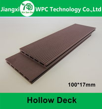 Fire Resistant Outdoor Synthetic Teak Floor Wpc cheap composite pvc Decking