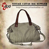 Army green 16oz canvas cheap handbags wholesale