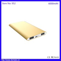 Portable Charger 6000mAh Power Bank External Emergency Cellphone Battery Charger