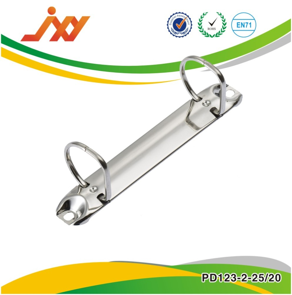 Office hardware 6 rings Metal book ring binder clip L130mm