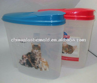 155OZ 2KG plastic container with lid, rice storage contianer, rice container