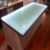 Exciting glass bar counter top for kitchen design