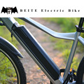 Mountain bicycle with hub motor electirc power bicycle
