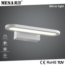 Aluminum IP20 sandy white bathroom led mirror light 6W CE&Rohs