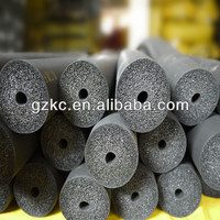 Black rubber foam heat insulation tube for air conditioning